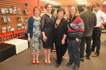 TARC Board Member Martha Wong helped cut ribbon on new Hogg Middle School library