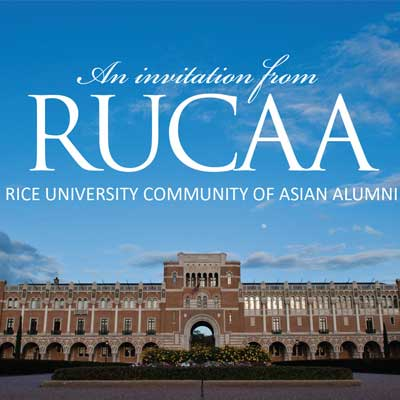 JAN 27 – RUCAA Kickoff Celebration – Commemorating 100 Years of Asians at Rice University