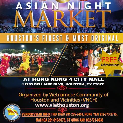 Come Join Us at Asian Night Market