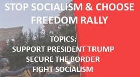 APR 15 – Stop Socialism and Choose Freedom Rally. Let Your Voices Be Heard