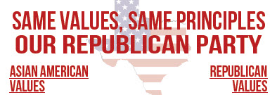 Asian American Values and Republican Values – Same Values, Same Principles (English, Vietnamese, and Chinese Versions)